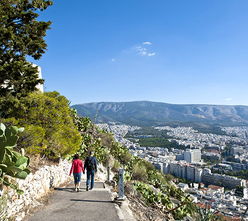 """Athens, Lycabettus"" by Y.Skoulas, courtesy of GNTO, www.visitgreece.gr"
