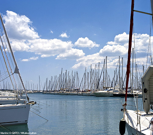 """Attica marine"" by H.Kakarouhas, courtesy of GNTO, www.visitgreece.gr"