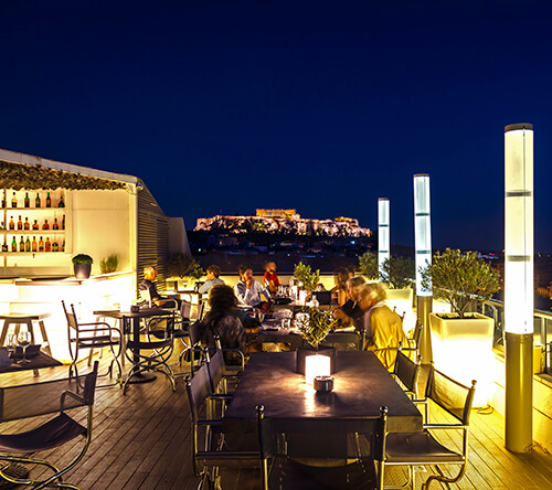 Athens Nightlife Entertainment - St'Astra Deck